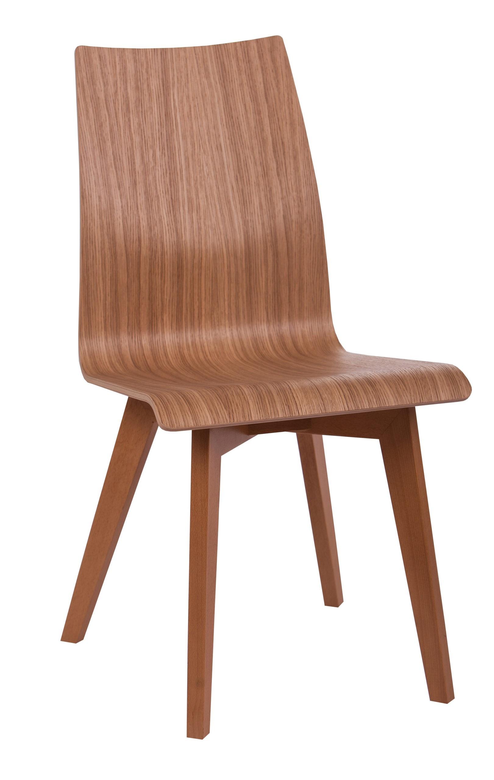 Krzesło całe drewniane KT 16 na krzyżakowym stelażu