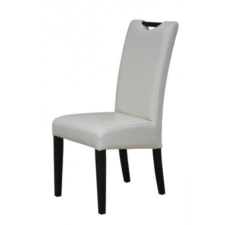 Krzesło do jadalni KT 5 tapicerowane z dodatkową rączką