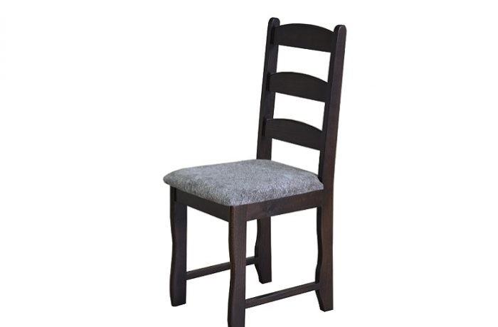 Krzesło do jadalni w ciemnym kolorze MR 150