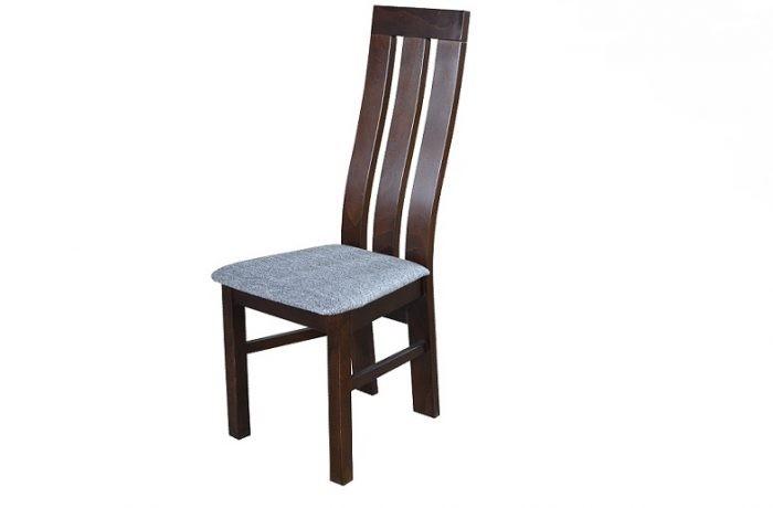 Krzesło do jadalni z drewnianym oparciem MR 130