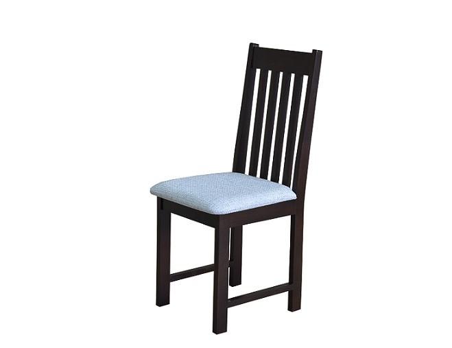 Proste krzesło do jadalni z drewnianym oparciem MR 140