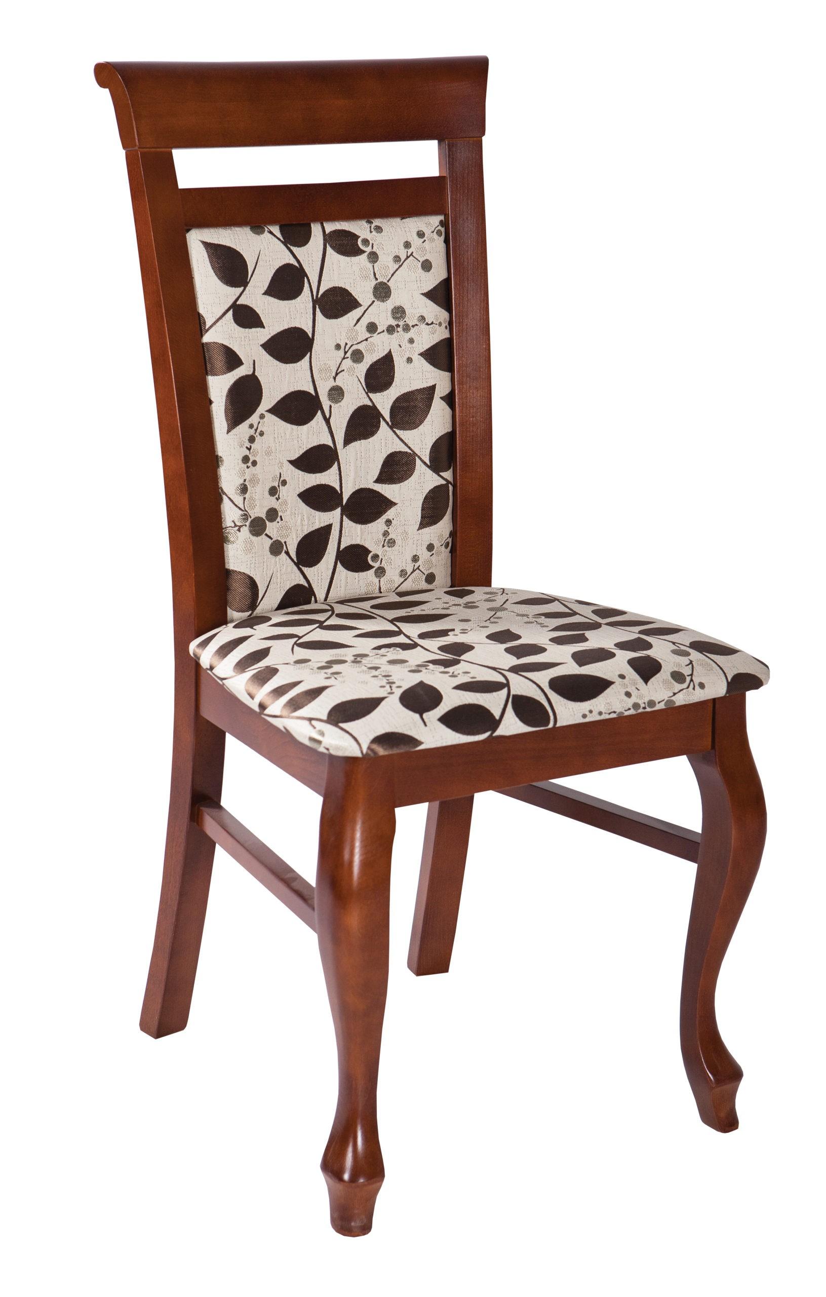 Stylowe krzesło tapicerowane MR 76 idealne do jadalni, salonu