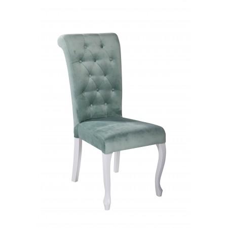 Krzesło tapicerowane KT 20 pikowane nogi ludwik
