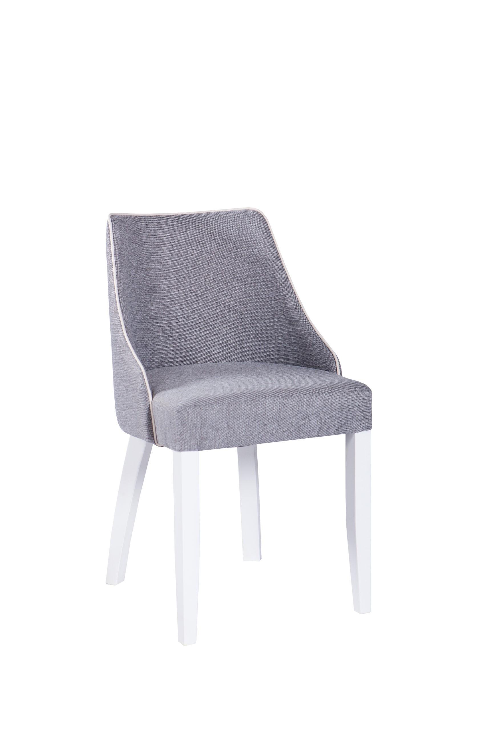 Nowoczesne krzesło tapicerowane KT 29 w różnych kolorach i tkaninach