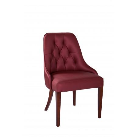 Pikowane krzesło tapicerowane KT 12