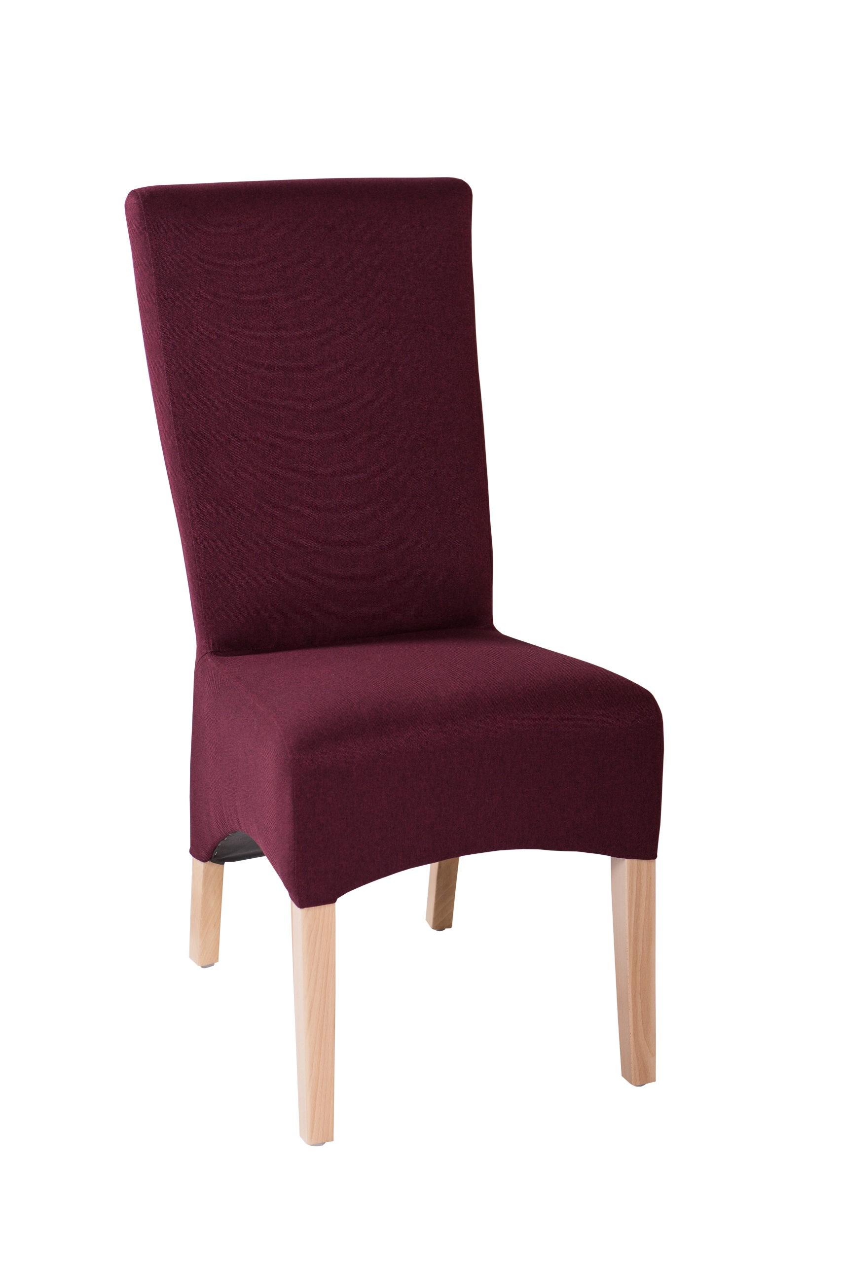 Wygodne krzesło tapicerowane KT 23 z profilowanym oparciem