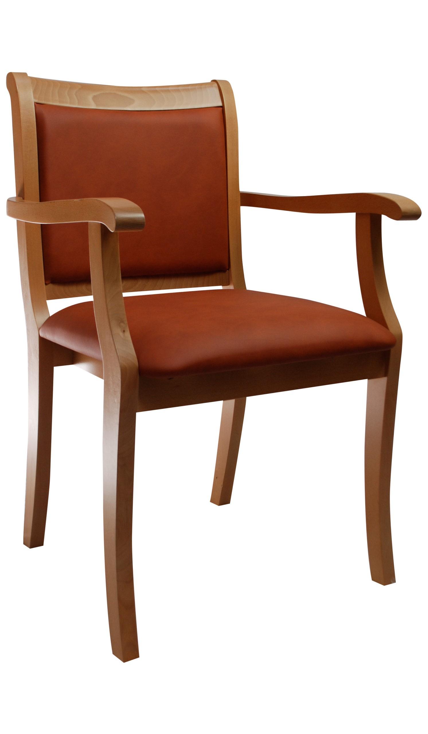 Bardzo wygodne krzesło do salonu,jadalni z podłokietnikami KT58