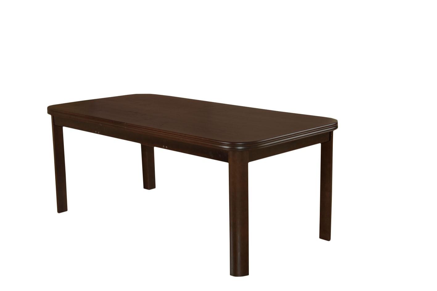 Stół Do Jadalni SM9 Na zaokrąglonych Nogach Rozkładany Do 280 Cm Z Dwoma Wkładkami po 40 cm