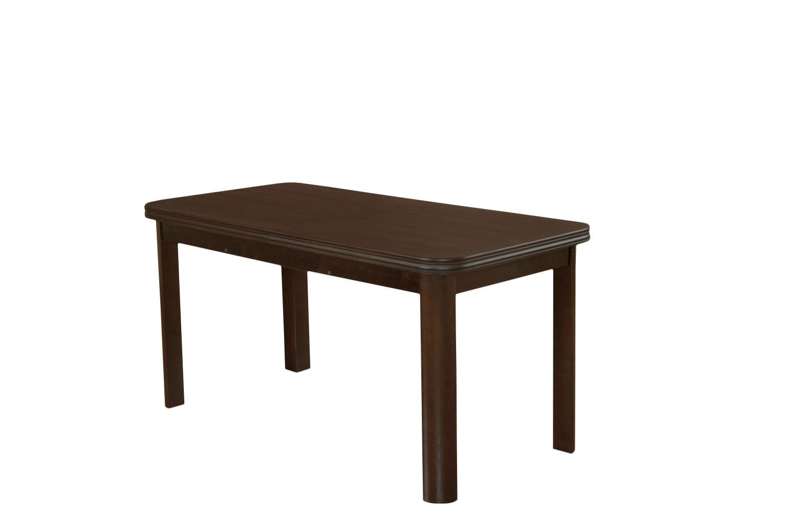 Stół SM14 na zaokrąglonych nogach z litego drewna rozkładany do 180 cm