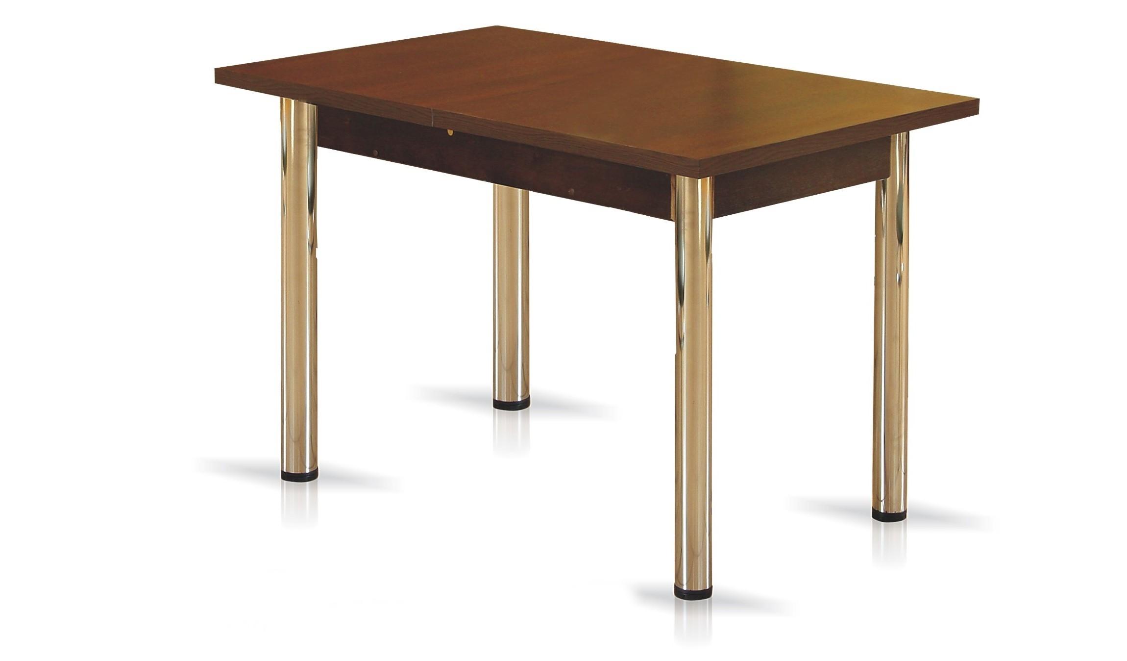 Stół do kuchni SM20 rozkładany szerokość 70 cm na chromowanych nogach