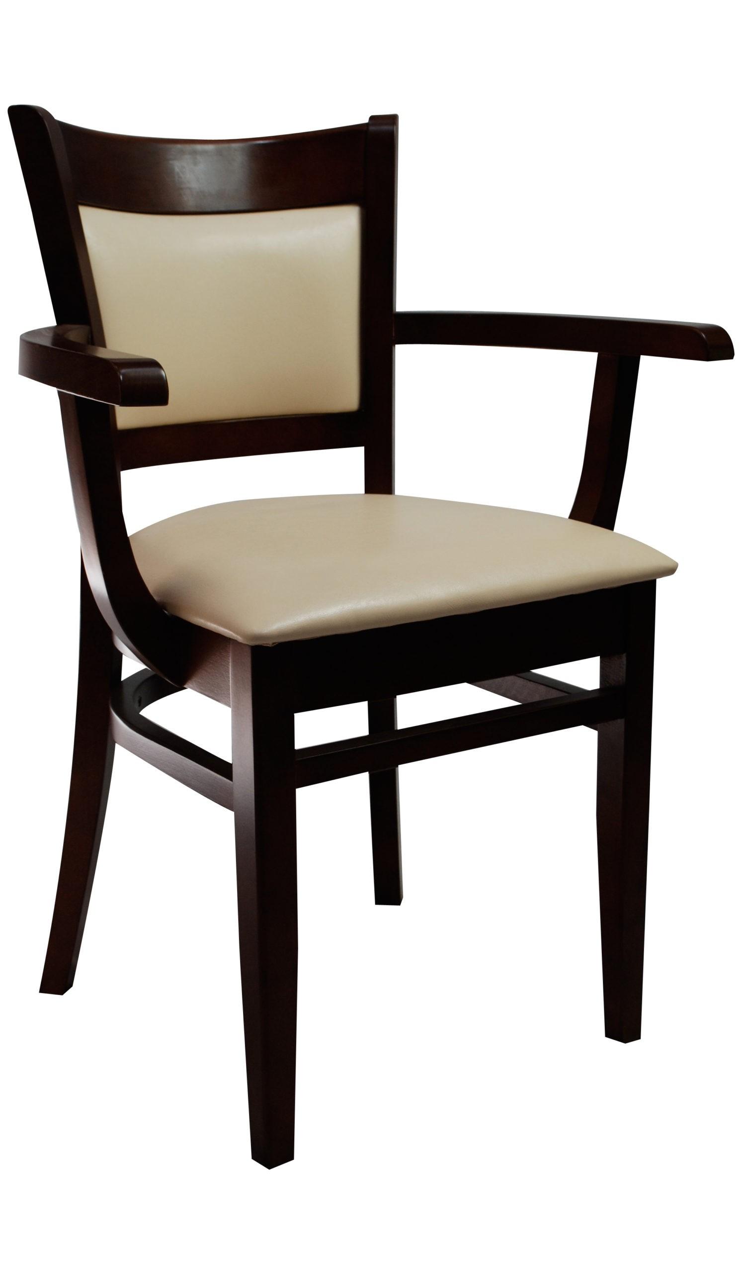 Wygodne Krzesło Do Salonu Kuchni Jadalni KT 57 z podłokietnikami